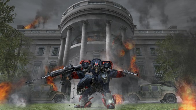 Metal Wolf Chaos XD screenshot 1