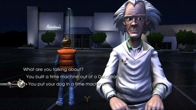 Back to the Future: The Game screenshot 3