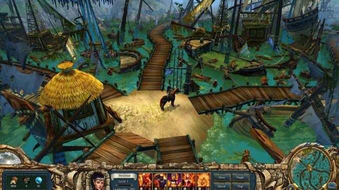 King's Bounty: Dark Side - Premium Edition screenshot 1