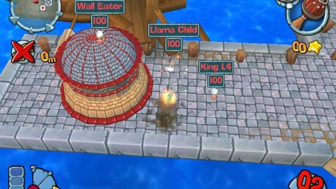 Worms Forts: Under Siege screenshot 2