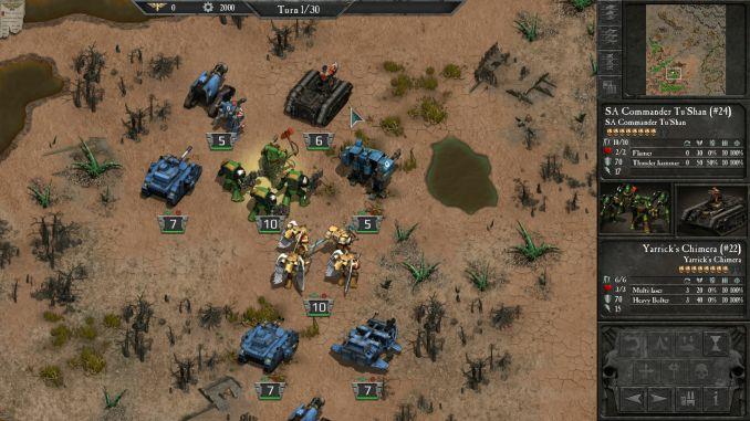 Warhammer 40000: Armageddon screenshot 2