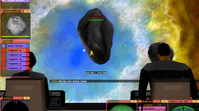 Star Trek: Bridge Commander screenshot 1