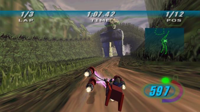 STAR WARS Episode I: Racer screenshot 2