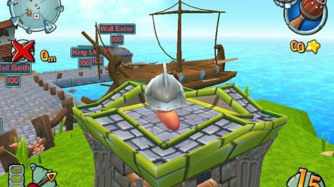 Worms Forts: Under Siege screenshot 3