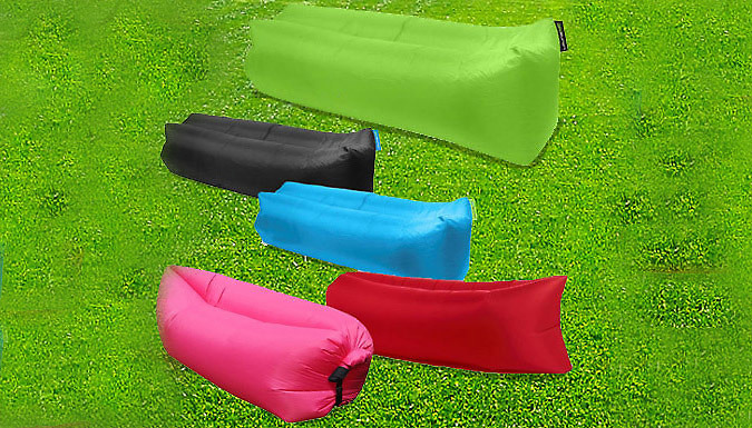 XL Self-Inflatable Lounger - 5 Colours
