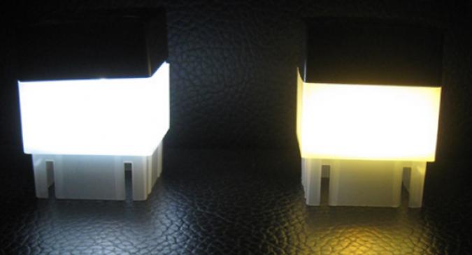 LED Solar Fence Light