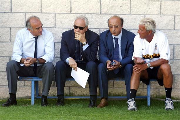 La Triade protagonista di Calciopoli