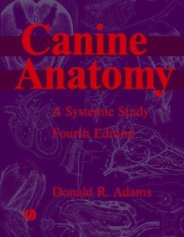 Canine Anatomy: A Systemic Study