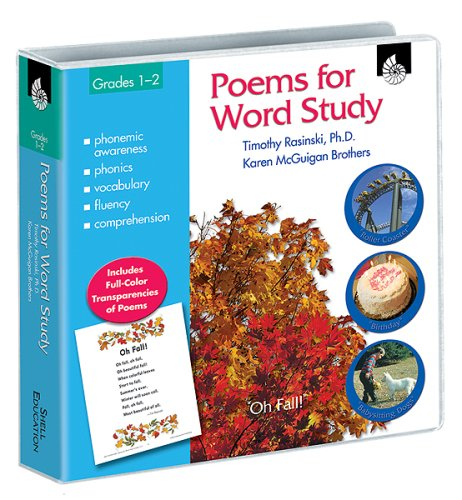 Poems for Word Study, Grades 1-2 [With Transparencies]