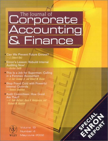 Journal of Corporate Accounting and Finance