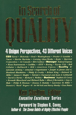 In Search of Quality: Different Perspectives, 43 Different Voices