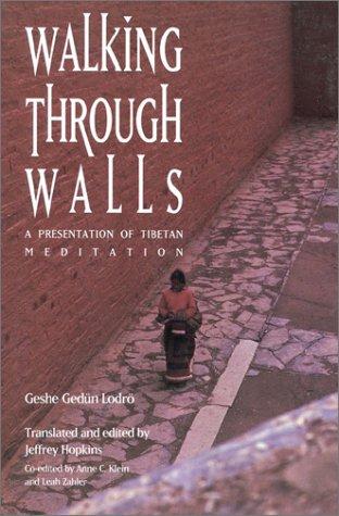 Walking Through Walls: A Presentation Of Tibetan Meditation