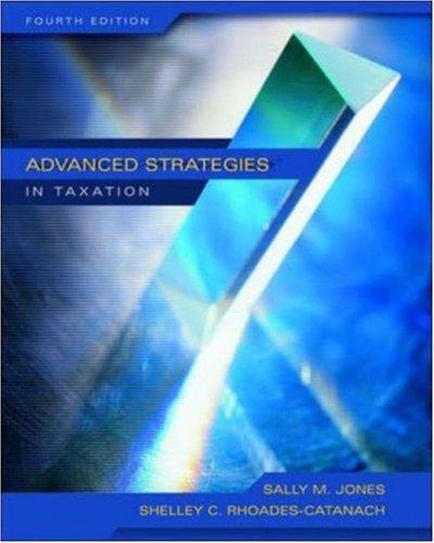 Advanced Strategies in Taxation