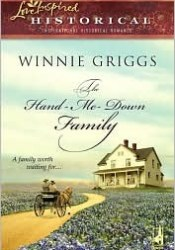 The Hand-Me-Down Family Book by Winnie Griggs