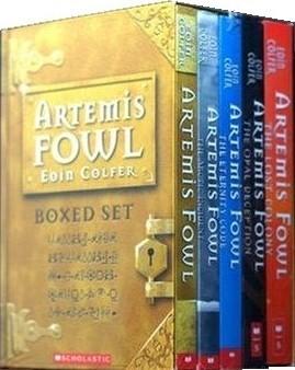 Artemis Fowl Boxed Set, Bks 1-5 (Artemis Fowl, #1-5)