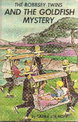 The Bobbsey Twins and the Goldfish Mystery (Bobbsey Twins, #55)