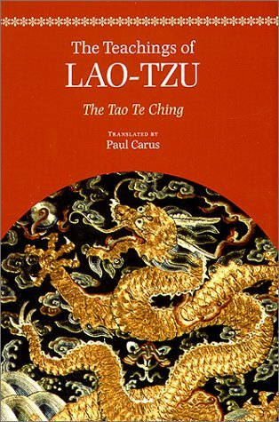 The Teachings of Lao-Tzu: The Tao-Te Ching