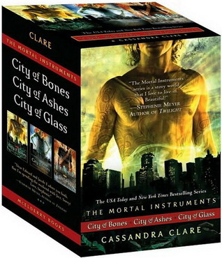 The Mortal Instruments Boxed Set: City of Bones; City of Ashes; City of Glass (The Mortal Instruments, #1-3)