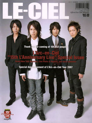 LE-CIEL, vol.50 (Official Fan Club Magazine) Winter 2007