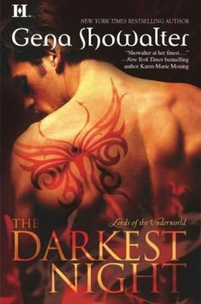 The Darkest Night (Lords of the Underworld #1)-Gena Showalter