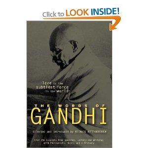 The Sayings Of Mahatma Gandhi