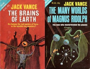 The Brains of Earth / The Many Worlds of Magnus Ridolph