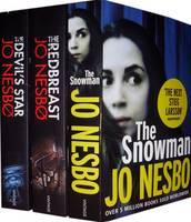 Jo Nesbø Collection: The Redbreast, The Snowman, The Devil's Star
