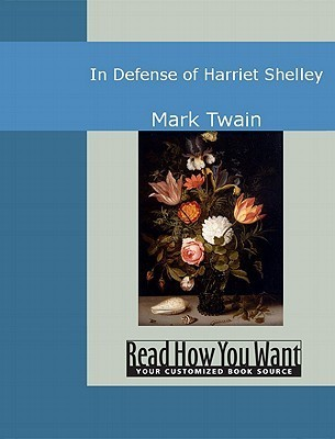 In Defence of Harriet Shelley