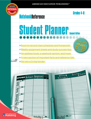 Notebook Reference Student Planner: Second Edition (Notebook Reference)