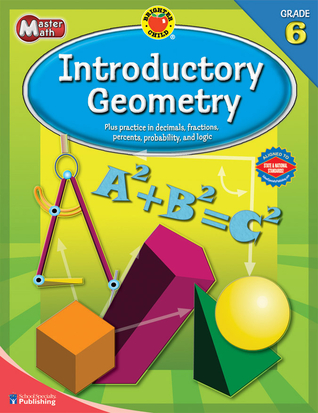 Brighter Child® Master Math: Introductory Geometry, Grade 6 (Brighter Child Workbooks)
