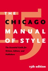 The Chicago Manual of Style Book