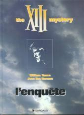 L'enquête : the XIII mystery (XIII, #13)