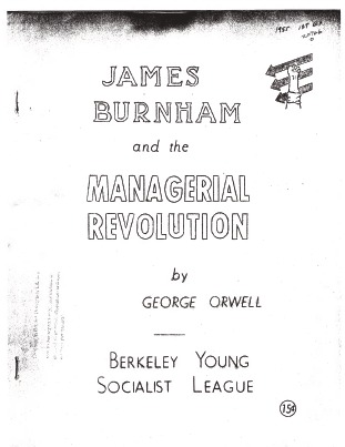 James Burnham and the Managerial Revolution