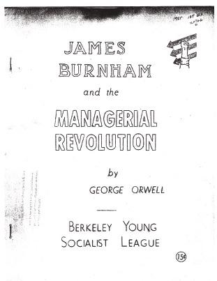James Burnham and the Managerial Revolution