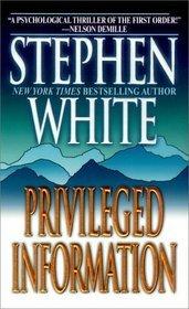 Privileged Information (Alan Gregory, #1)