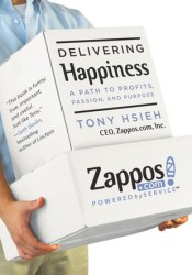 Delivering Happiness: A Path to Profits, Passion, and Purpose Book by Tony Hsieh