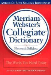 Merriam-Webster's Collegiate Dictionary Book