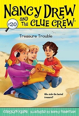 Treasure Trouble (Nancy Drew and the Clue Crew, #20)