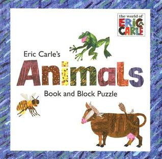 Eric Carle's Animals: Book and Block Puzzle