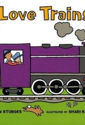 I Love Trains! Book