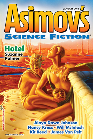 Asimov's Science Fiction, January 2013