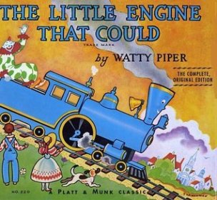 Inspiration - The Little Engine That Could book