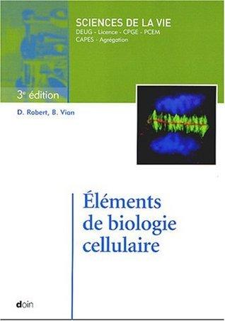 Éléments de biologie cellulaire