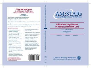 Am: Stars Ethical and Legal Issues in Adolescent Health Care