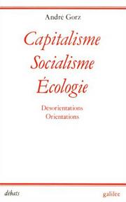 Capitalisme, socialisme, écologie