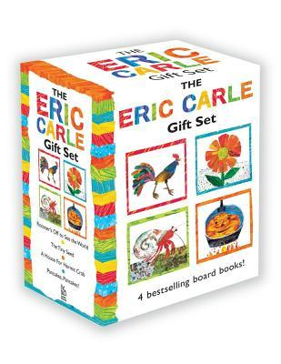 The Eric Carle Gift Set: The Tiny Seed; Pancakes, Pancakes!; A House for Hermit Crab; Rooster's Off to See the World