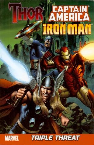 Triple Threat: Thor, Iron Man, and Captain America