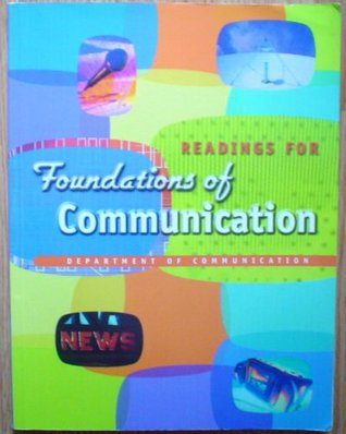 Readings for Foundations of Communication