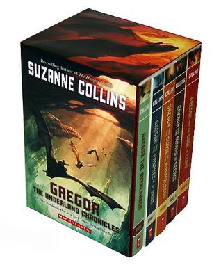 Gregor the Overlander Box Set (Underland Chronicles, #1-5)