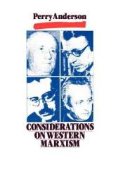 Considerations on Western Marxism Book by Perry Anderson